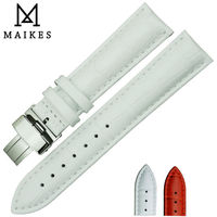 MAIKES Hot Sell Watch Band 14mm 16mm 18mm 20mm 22mm Folding Buckle Watch Strap For All