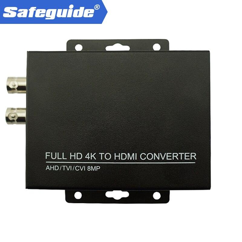 Full HD 4K CVI/TVI/AHD+CVBS To HDMI Converter