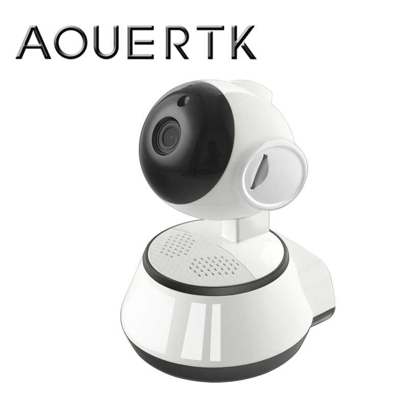 AOUERTK 720P HD Night vision camera WIFI Home Security IP Camera Surveillance Camera Wifi MINI CCTV Camera Baby Monitor