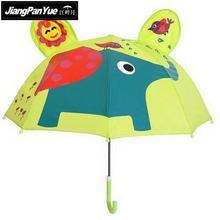 ФОТО children lovely cartoon umbrellas for kids girl parasol umbrella baby elephant colorful umbrellas rainy days precious gifts