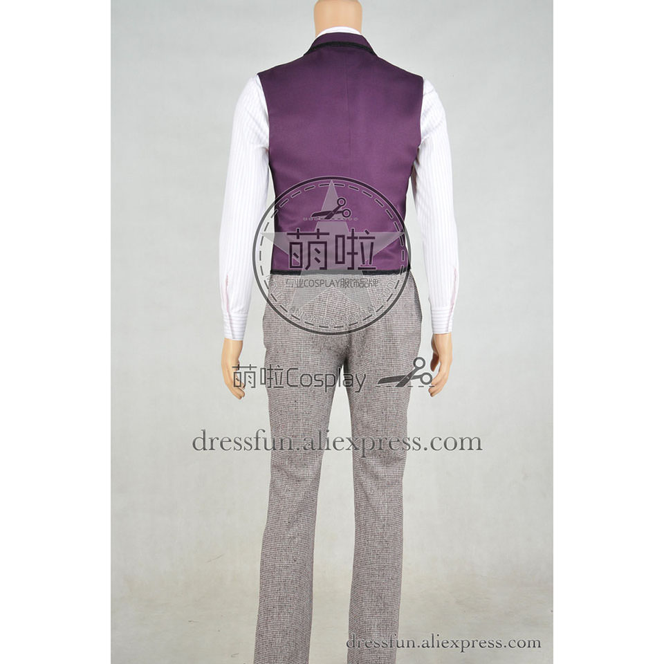 Doctor Who Cosplay Dr 11th Eleventh Doctor Matt Smith Costume Coat Outfits Suit Halloween Fashion Party Daily Life Outfits-in Movie u0026 TV costumes from ...  sc 1 st  AliExpress.com & Doctor Who Cosplay Dr 11th Eleventh Doctor Matt Smith Costume Coat ...