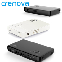Crenova Portable Mini GP1SUP DLP Projector Set In Android WIFI MAX 1080P Home Cinema Theater Smart