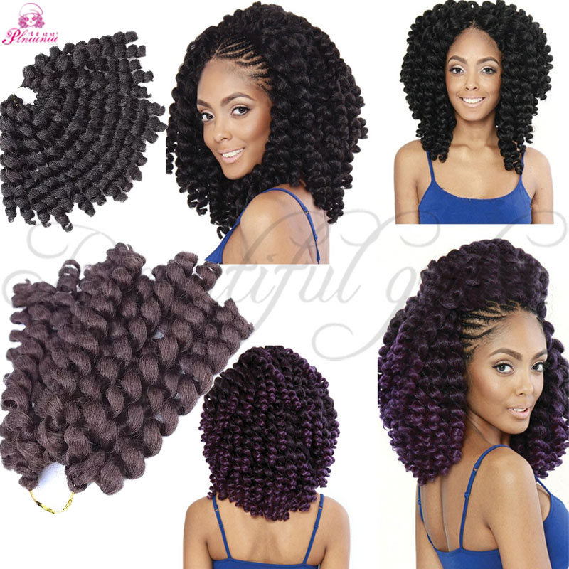 Freetress Ombre Wand Curl Janet Collection Synthetic Kanekalon Crochet Braids Noir 2x Bounce Twist Braid 10inch Hair Extensions On Aliexpress Alibaba