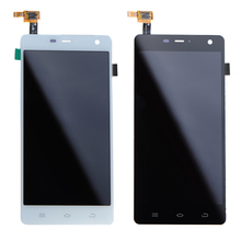 1 Piece Black White New For THL 5000 LCD Display Digitizer Touch Screen Assembly With Tools VIA70 T18 0.45