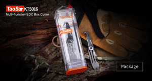 Image 5 - NEXTOOL Multi function Box Opener Box Cutter Mini Rescue Knife Taobar