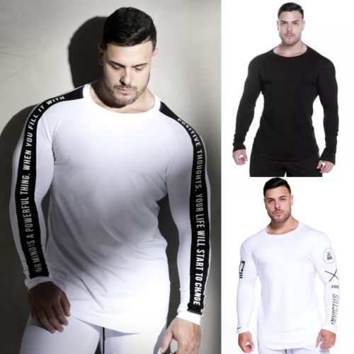 Clothing, Shoes & Accessories Activewear Tops Fdx Long Sleeved Gym Top Size Large Crease-Resistance