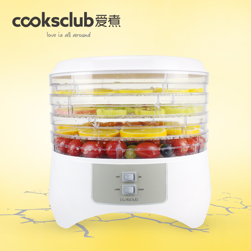 Household fruits vegetables herbs and pet snacks timed mini dehydration air-dried predetermined timing machine 4 layers household fruits vegetables herbs and pet snacks automatic timed mini dehydration air dried machine 4 floors