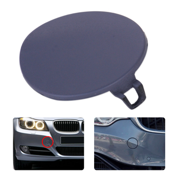 CITALL Grey Front Bumper Tow Hook Cover Cap Fit for BMW E90 E91 316i 318i 320i 328i 330i 330xi 335i 335xi 51117207299 image