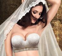 2016 Summer Style Women Sexy Push Up Front Closure Bra Seamless Strapless Bra Self Adhesive Silicone