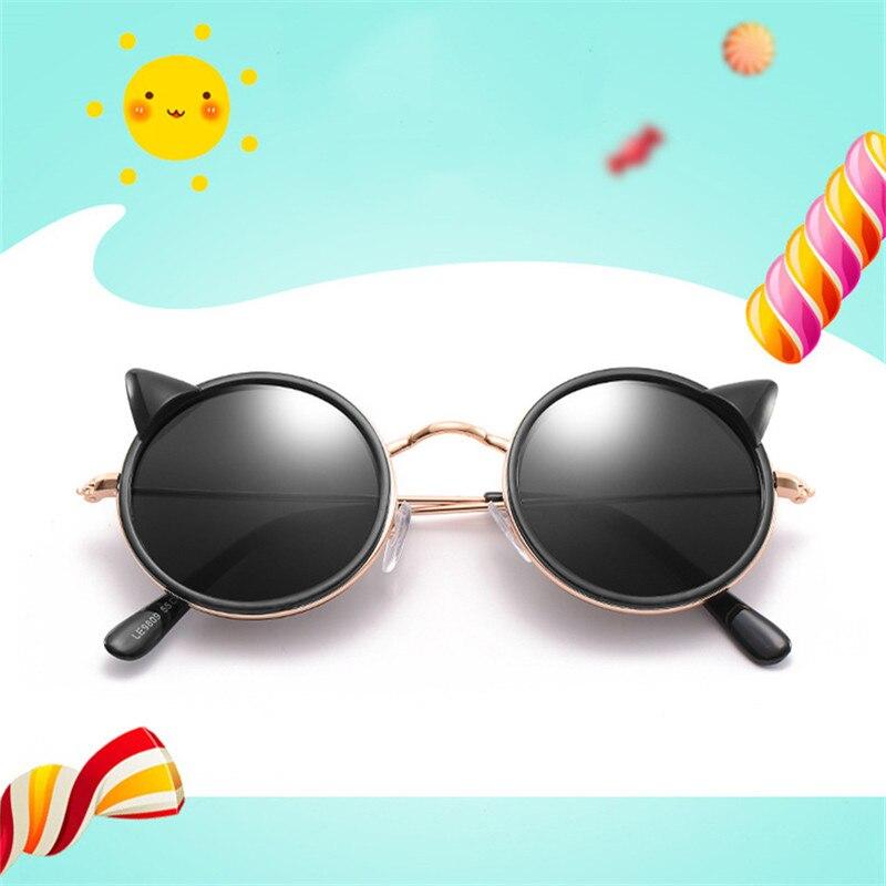 Schmuck & Zubehör Stetig Cubojue Kinder Sonnenbrille Cat Eye Ohr Nette Sonnenbrille Für Kinder Mädchen Cool Fashion Uv400 Runde Sonnenbrille Kind Schmuck Sets