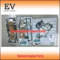 Genuine V3307T V3307 Bobcat Escavadeira kit de vedação completa (junta da cabeça do cilindro válvula de vedação de óleo  selo do óleo do virabrequim etc)|kit kits|kit d|kit seal -