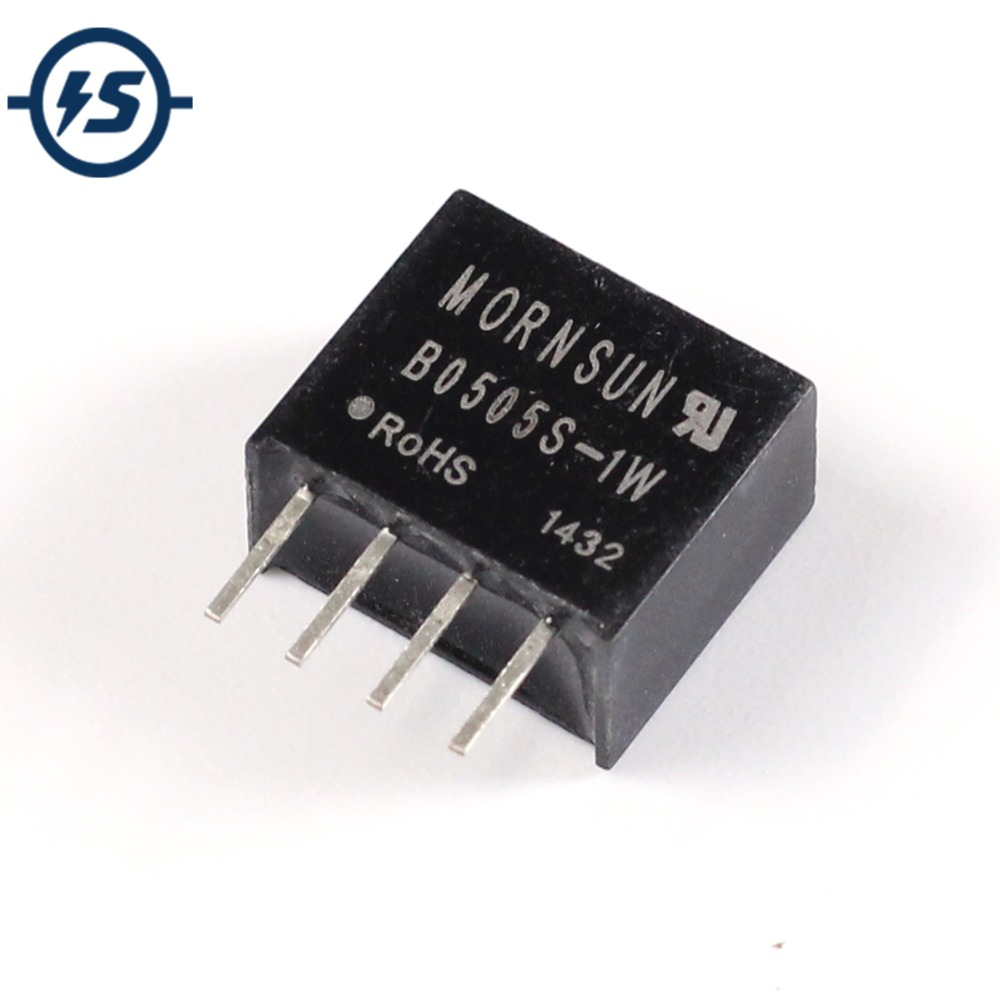 B0505S-1W DC-DC Isolated Converter Galvanic 5V to 5V Power Supply Module 4 Pins Power Module