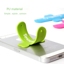 50pcs/Lot Universal Mobile Cell Phone Holder for iPhone 4 4s 5 6 Plus Samsung Xiaomi HTC Mini Touch U  Silicone Stand  Holder