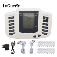 Russian Electronic Body Slimming Pulse Massage For Muscle Relax Pain Relief Stimulator Tens Acupuncture Therapy Machine