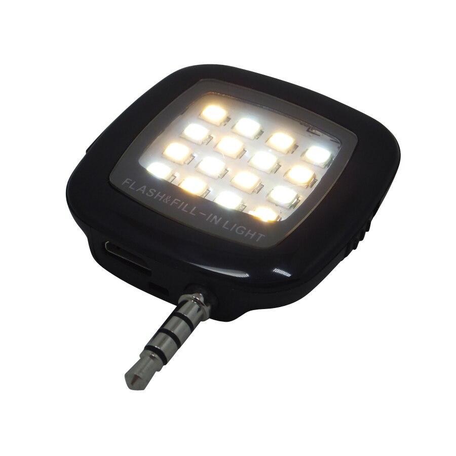Smart phone flash lighting, led flash light selfie lamp for phone flashlight camera cellphone 1pcs Free shipping