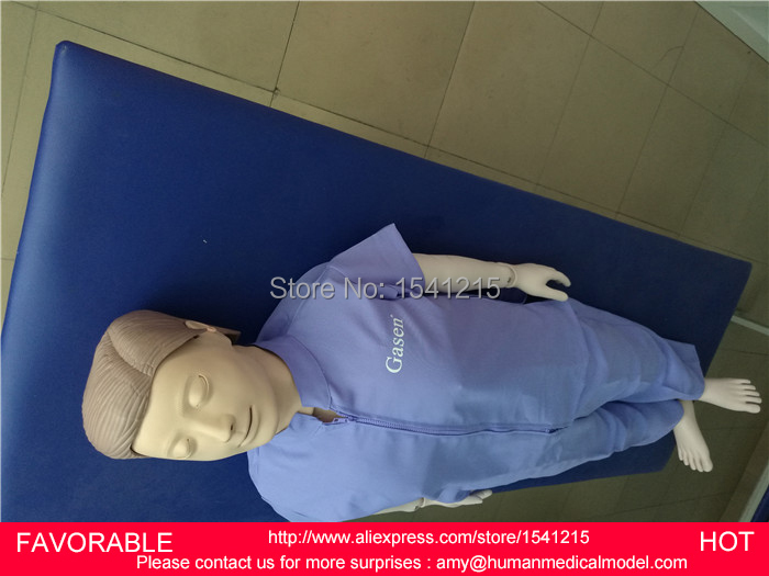 FEMALE/MALE AUTOMATIC CPR MEDICAL MANIKIN  ,HUMAN PATIENT SIMULATOR AND BASIC FULL BODY CPR TRAINING MANIKIN-GASEN-CPRM0005W economic basic patient care manikin female nursing manikin nursing mannequin