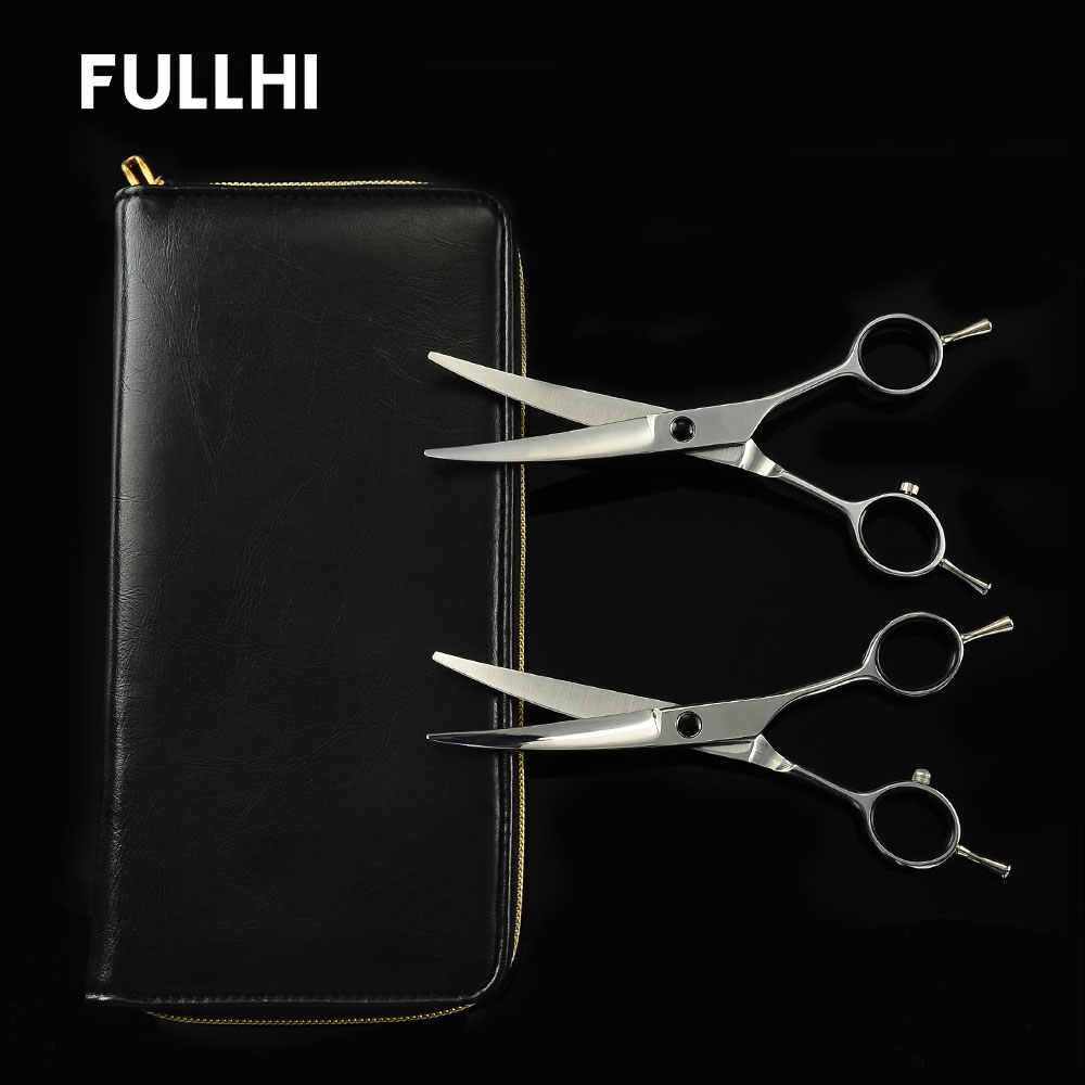 Curved Scissors 6 inch Sharp Multipurpose Shear DIV Dog Grooming Scissors Hair Cutting Tools Pet Hairdressing Hairstyling Gift