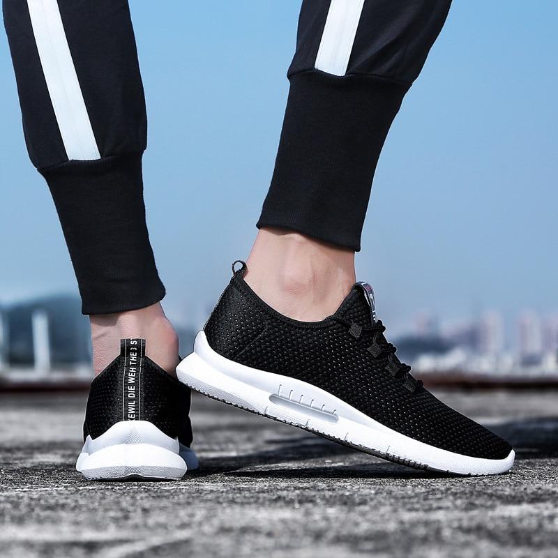 Pure Color Light Casual Shoes Mesh Cloth Men's Shoes Breathable Walking Jogging Shoes Large Size Men's Shoes 46 (17)