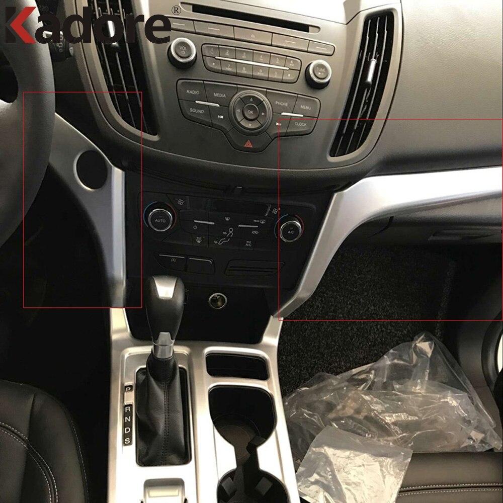 For ford escape kuga 2017 2018 2019 abs matte center - Ford escape interior accessories ...