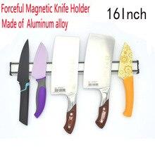 Freies Verschiffen Messerhalter aluminiumlegierung Block Magnet Messerhalter Für Edelstahl Messer