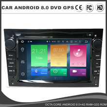 Octa Core Android 8.0 Car DVD GPS Player For Opel Meriva Antara Zafira Veda Agila Corsa Vectra Astra H Radio BT SD USB DAB TMPS(China)