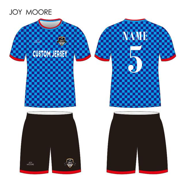 college football jersey soccer blue black soccer jersey