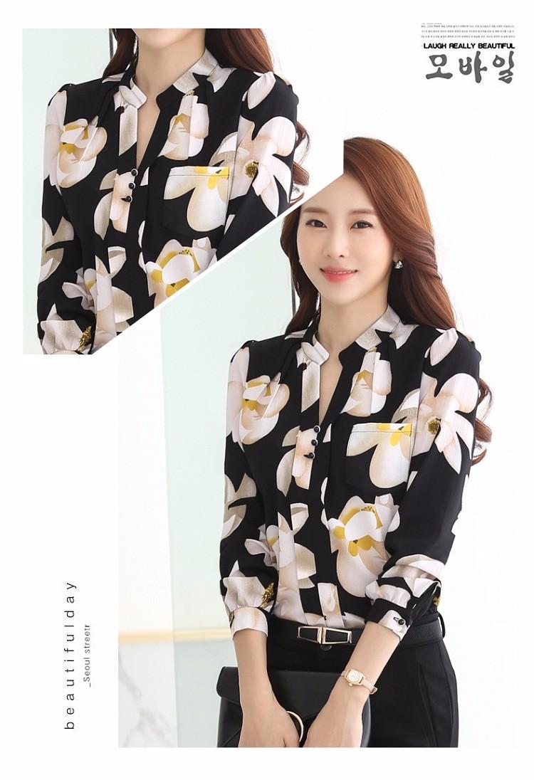 HTB1pvV2NVXXXXb3XXXXq6xXFXXXS - Autumn Fashion Blouse Office Work Wear shirts Women Tops