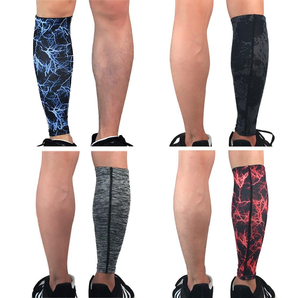 Sports Leg Warmers Protection Calf Support Leg Sleeve Basketball Football 1PC SPSLF0049