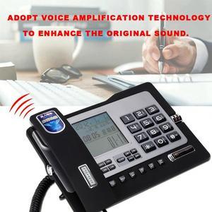 Image 3 - G026 Simple Style Fixed Telephone Landline Desk Phone for Home Office Desktop Telefono Fijo Portable
