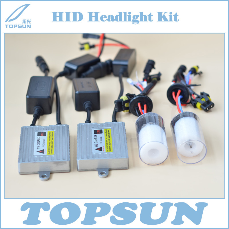 Car Headlight Kit 35W HID CANBUS Ballast W9 ERROR FREE and Cnlight Straight Bulb H1 H3 H7 H8 H9 H10 H11 9005 9006 880 (H27) 881