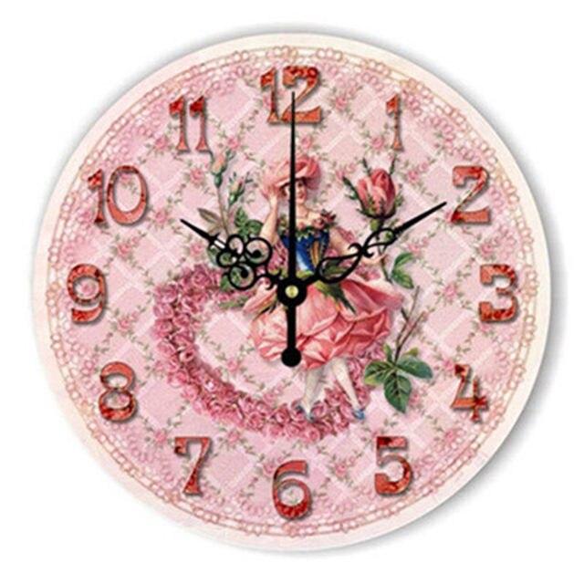 Online Shop 12 Position Patterns Funny Circular Bedroom Wall Clocks ...