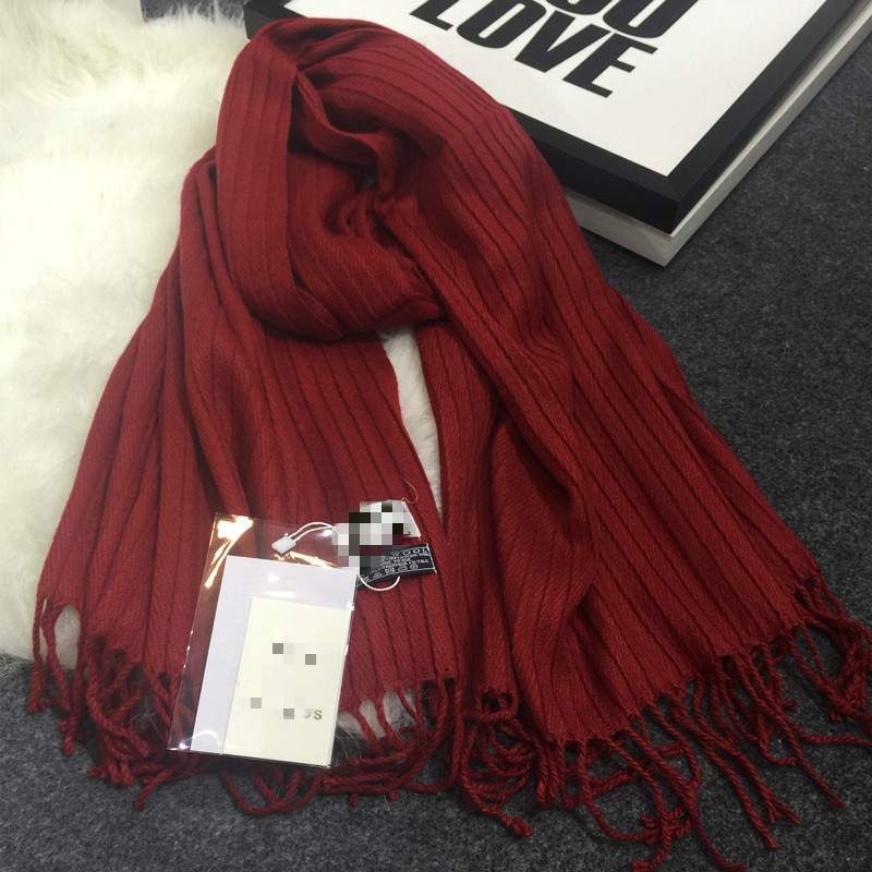 brand name spain style crimping scarf autumn and winter