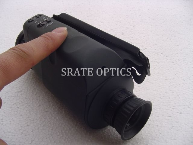 2X40mm Pocket Hand-held Starlight Monocular Night Vision Device with IR