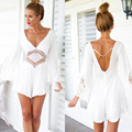 2016 new Womens Sexy Lace Playsuit Summer Beach Ladies Jumpsuit
