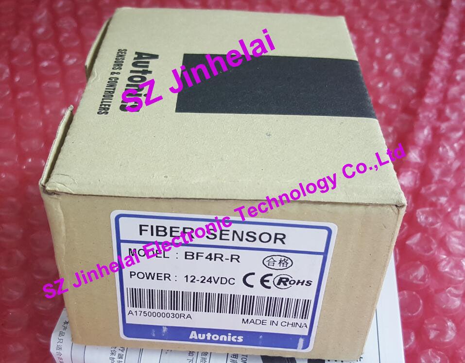 цена на 100% Authentic original BF4R-R AUTONICS FIBER SENSOR Optical fiber amplifier 12-24VDC
