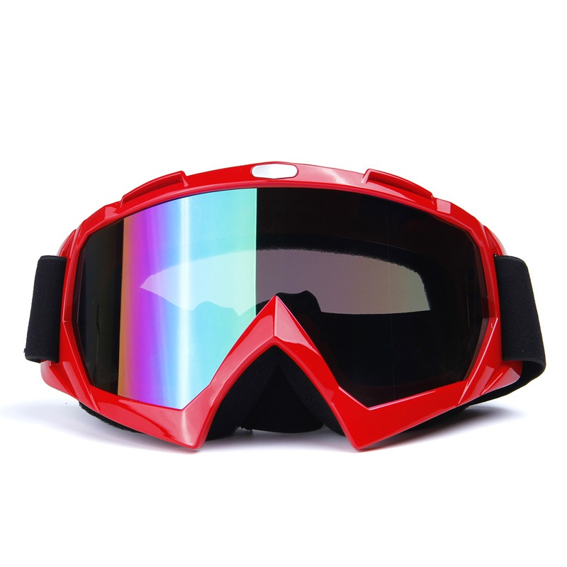 Sportswear & Accessories men and women Single layer Skiing glasses Windproof mirror Motorcycle goggles Skiing Eyewear H013