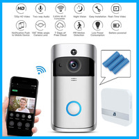 Wifi doorbell Camera Smart WI FI Video Intercom Door Bell Video Call For Apartments IR Alarm Wireless color lens Security Camera