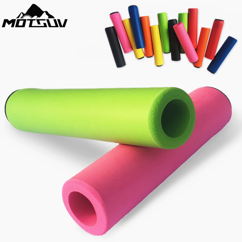 MOTSUV Bicycle Ultraight High Density handlebar Grips silicone sponge Bike Grips of XC/AM lightweight shock-absorbing super soft