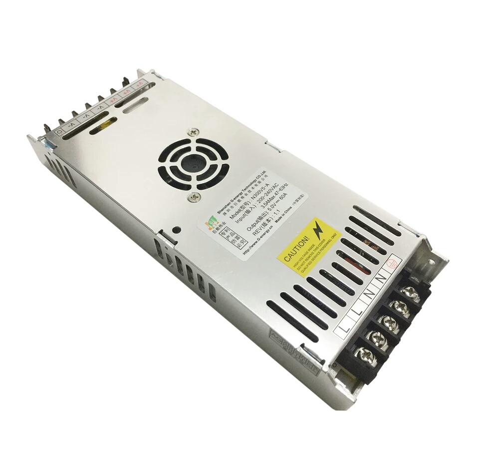 5V 60A LED Power Supply 300W 200W LED Driver Power Adapter Suitable For All Types Pixel Of LED Modules