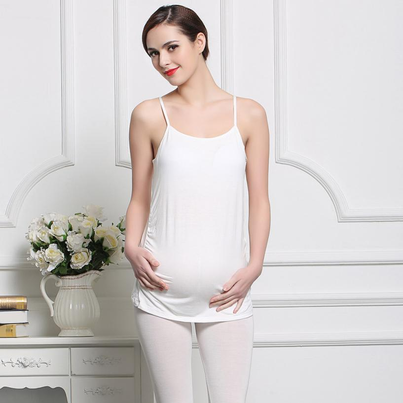 Women Pregnant Slim Padded Bra Stretch Maternity Strappy Vest Best seller