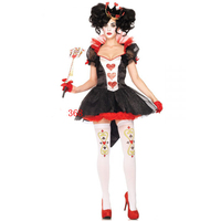 Sexy Fluffy Lace Cosplay Circus Halloween Costume