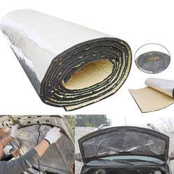 여름 자동차 후드 모터 firebreak 열 매트 deadener 방음 재료 deadening 알루미늄 호일 스티커