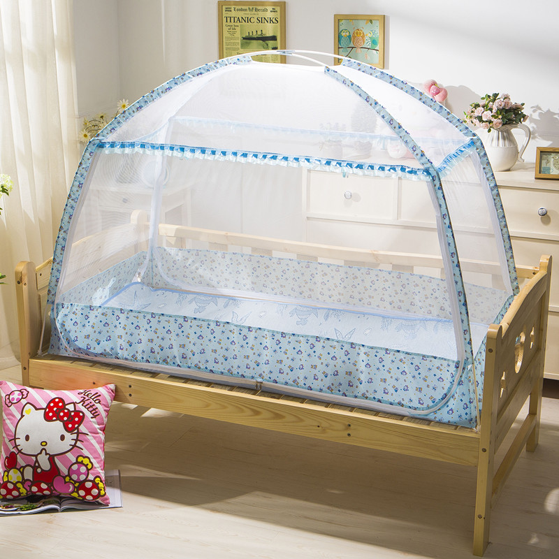 Door Type Zipper Outdoor Kids C&ing Tent Baby Bed Mosquito Net Infant Crib Cradle Netting Portable Fold Fine Mesh Bed Canopy -in Crib Netting from Mother ... & Door Type Zipper Outdoor Kids Camping Tent Baby Bed Mosquito Net ...
