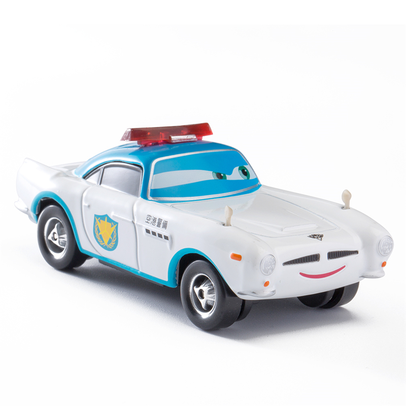 Disney Pixar Cars 3 Lightning Mc Queen Blue Jackson Storm Mater 1:55 Diecast Metal Alloy Model Car Toy Children Gift Boys