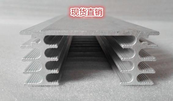 Fast Free Ship High-power radiator width 60mm,high 26mm,length 400mm can be customized custom aluminum radiator 60*26*400mm цена 2017