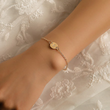 Fashionable Gold Color Bracelet and Bangle for Woman Adjustable Simple Bracelets Jewelry Party Gifts