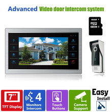Homefong Video Door Phone Doorbell with Camera Intercom Video Intercom Recording Photo/Video Support 16GB SD Card Included