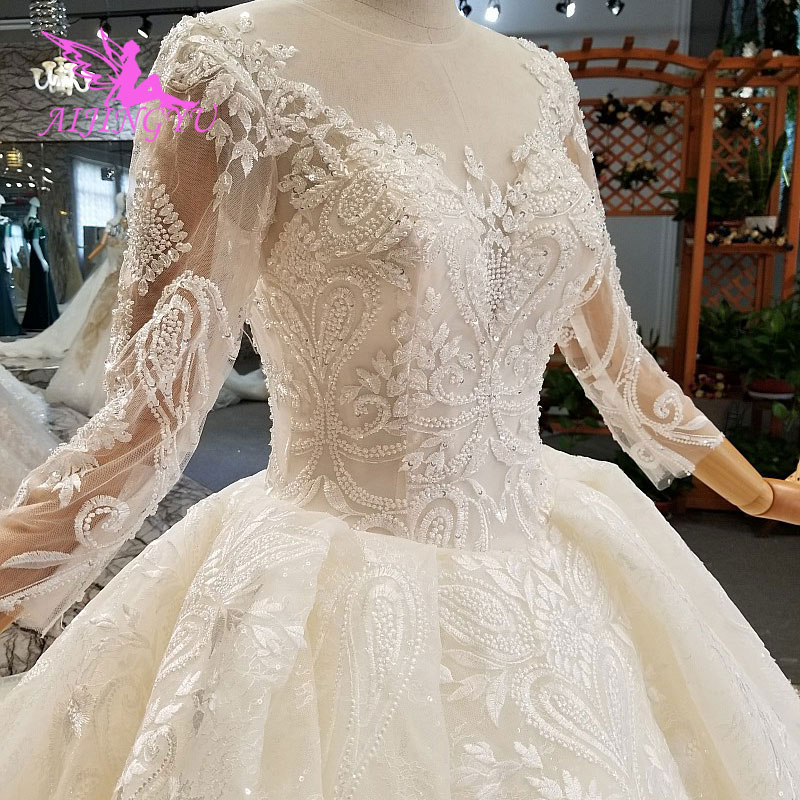 Wedding Gown For Sale: AIJINGYU Wedding Dresses For Sale Ivory Lace Gowns White
