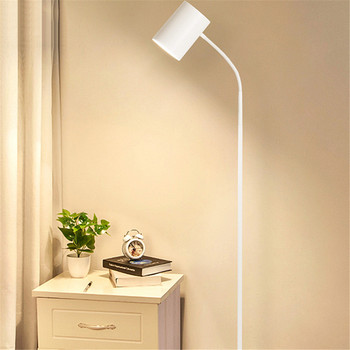 Modern Standing Lamp Loft Reading Study Art Floor Lamps for Living Room Reading Standing Lampshade Deco Salon Cafe Bar Standing фото