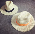 Chapéu Fedora de Palha do verão Para As Mulheres Aba Larga Praia Chapéu de Sol Frete Grátis ELDS-005